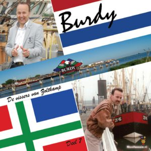 Single Burdy Deel 7 B - De vissers van Zoltkamp